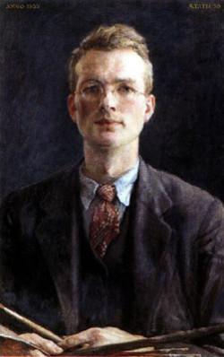 W.G Hofker zelfportret 1935